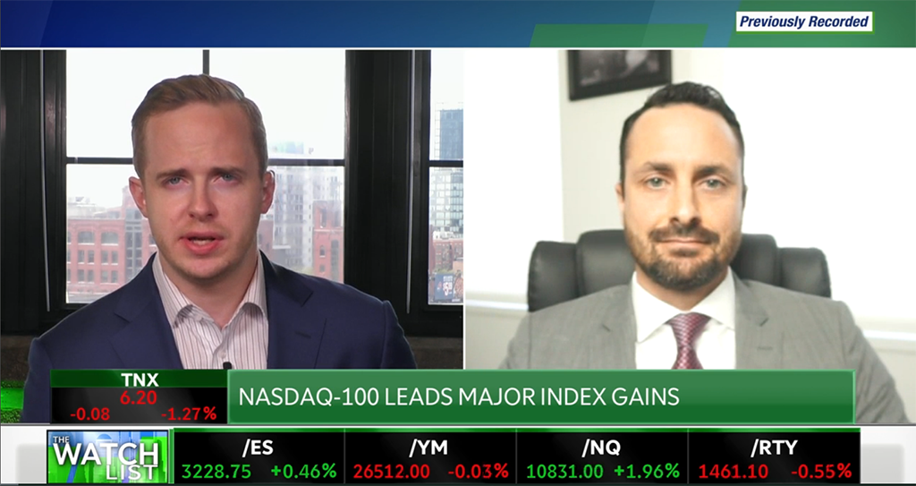 Special Market Update – Interview with Adam Phillips on the TD Ameritrade Network