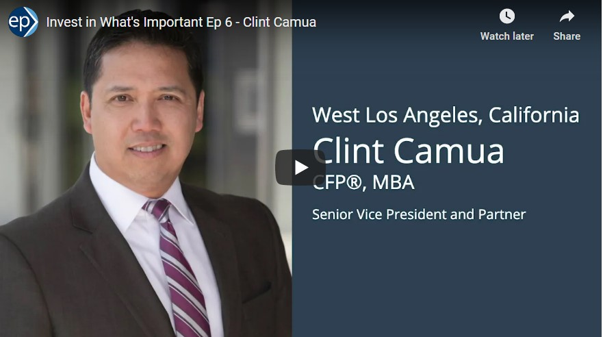 Invest In What's Important Interview - Clint Camua and Decision Making in Life and Finances