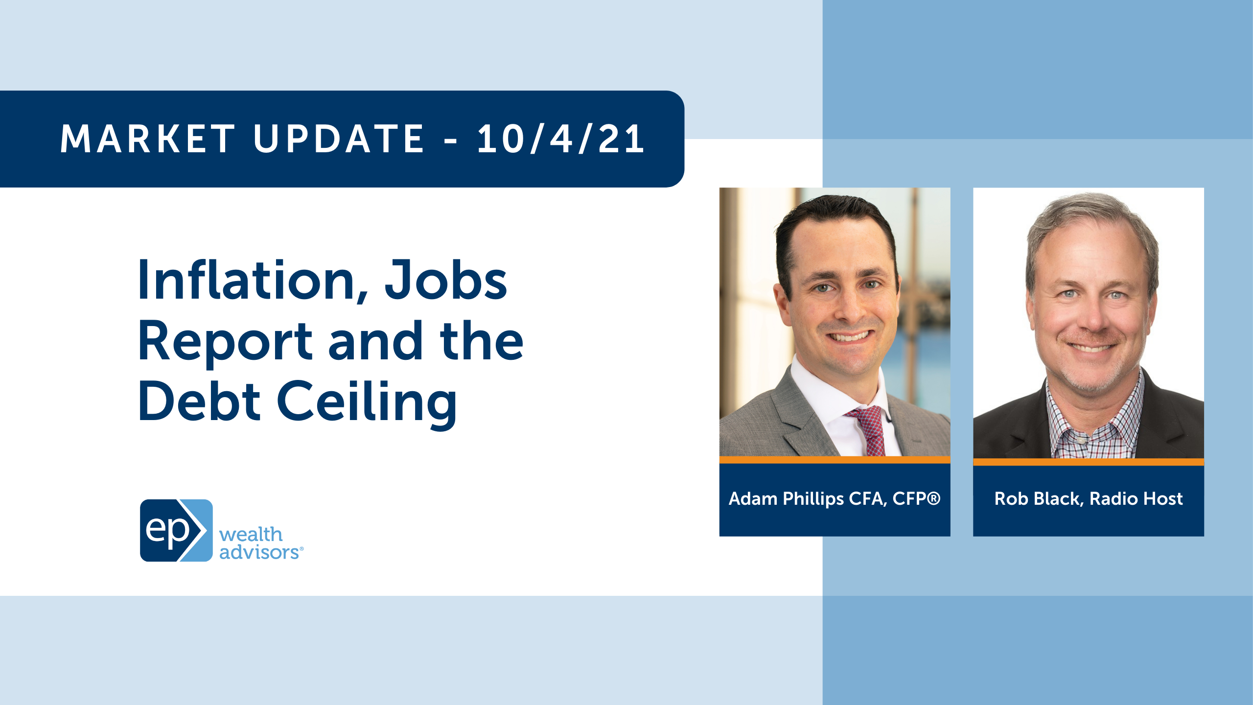Inflation, Jobs Report and the Debt Ceiling | Market Update 10/4/21