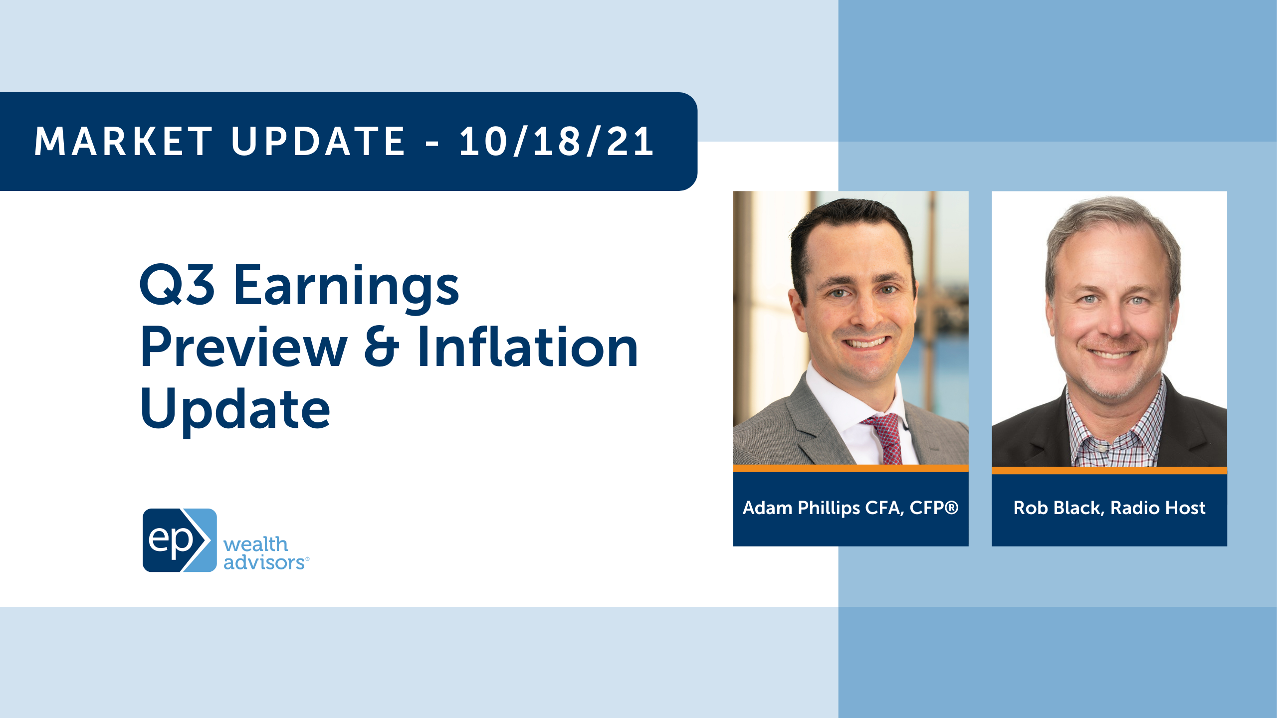 Q3 Earnings Preview & Inflation Update | Market Update 10/18/21