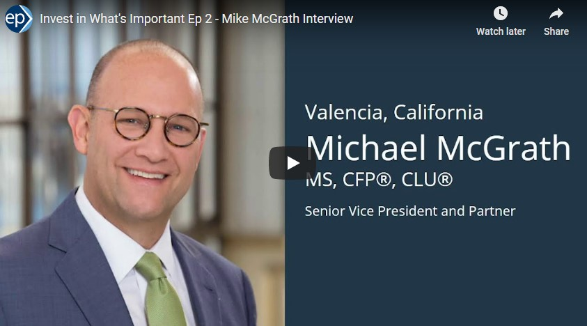Invest In What's Important Interview - Mike McGrath onChildren's Sense of Entitlement and Financial Literacy