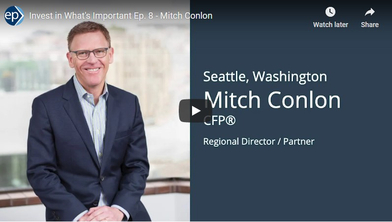 Invest In What's Important Interview - Mitch Conlon and the Arch of Retirement