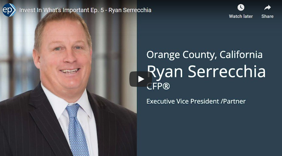 Invest In What's Important Interview - Ryan Serrecchia on the Emotions of Retirement Planning