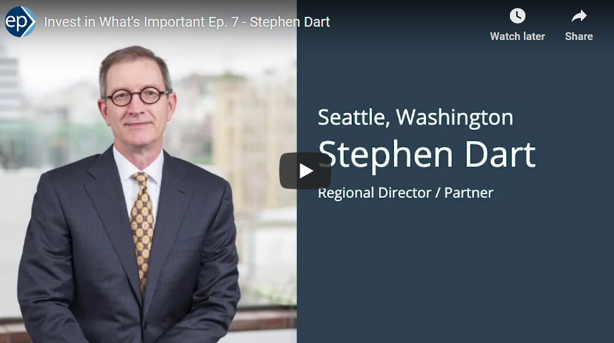 Invest In What's Important Interview - Stephen Dart and Value of College Planning