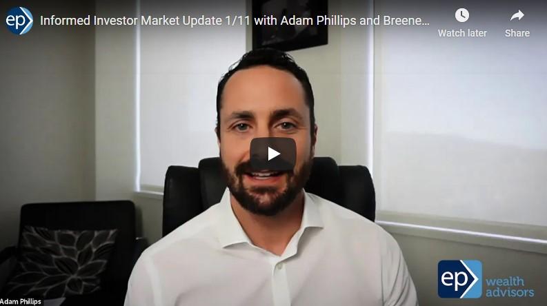 Informed Investor Market Update January 11th, 2021 - Narrow Democratic Sweep