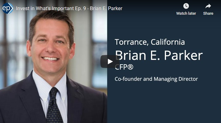 Invest In What's Important Interview - Brian Parker and Living a Meaningful Life