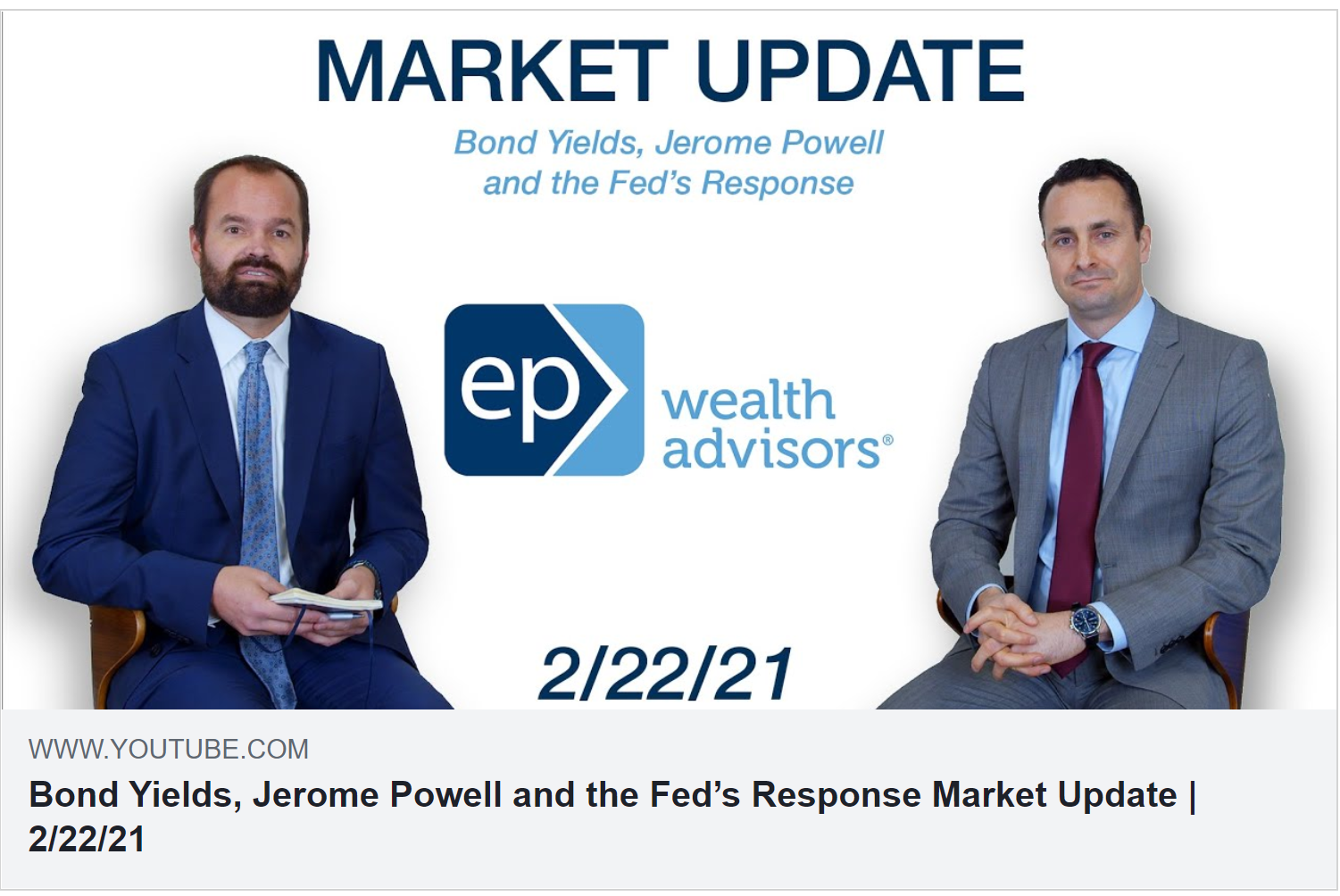 Bond Yields, Jerome Powell and the Fed's Response | Market Update 2/22/21